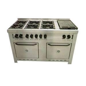 Hogar xxi cocinas industriales campanas en acero for Cocina industrial hogar