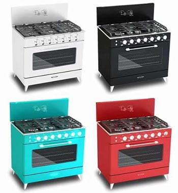 Hogar xxi cocinas industriales campanas en acero for Cocinas industriales para el hogar