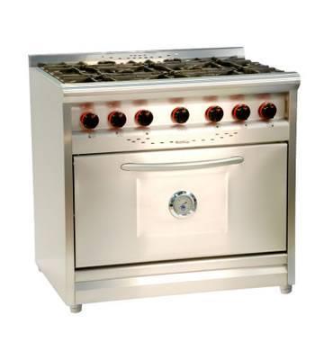 Hogar xxi cocinas industriales campanas en acero for Cocinas industriales en casa